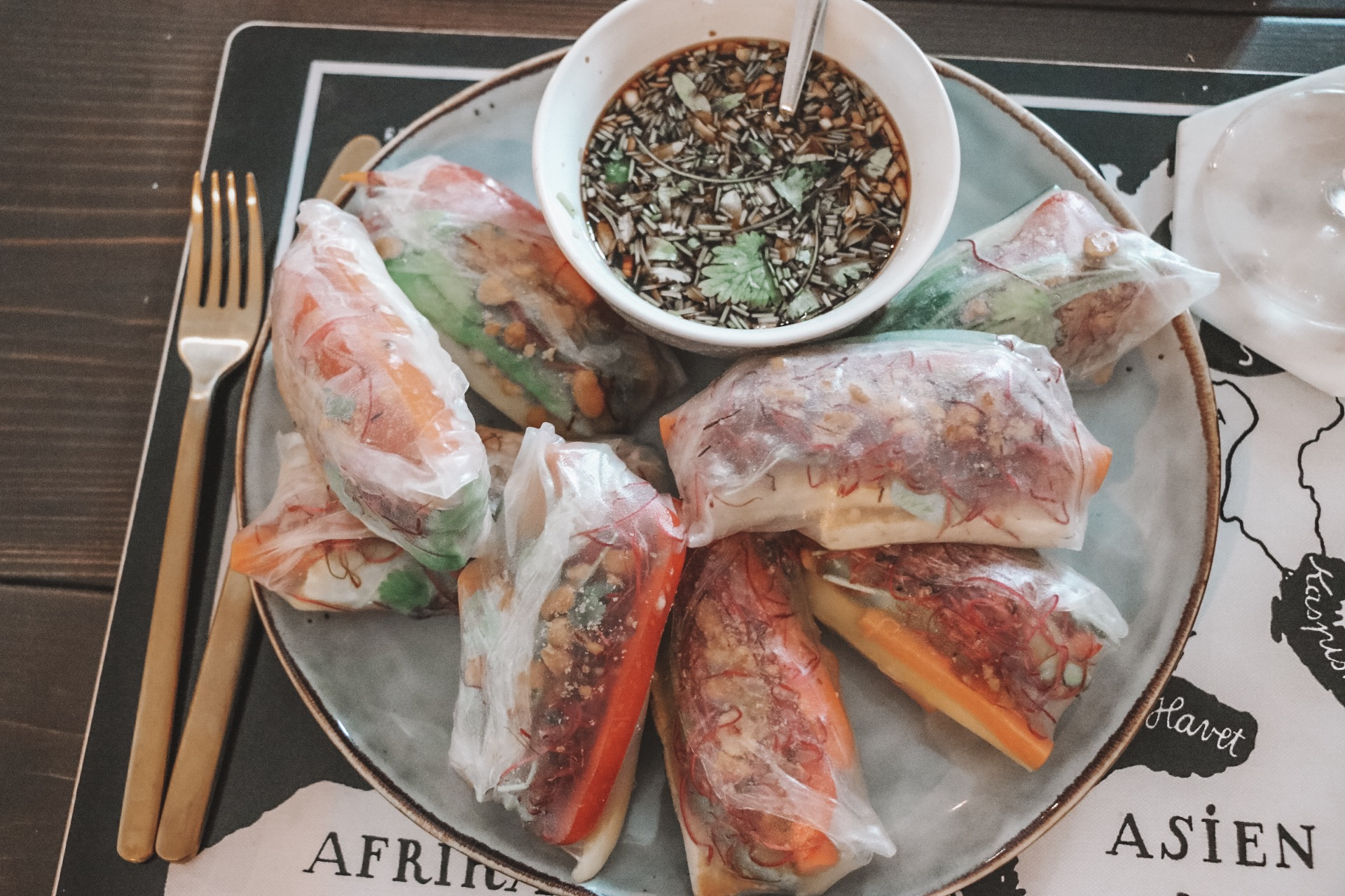 växtbaserat_recept_Vietnamesiska vårrullar_beijer